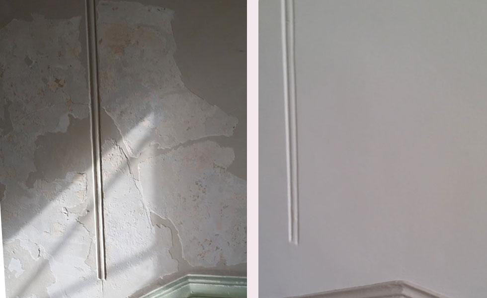 Enduit plâtre – Chazay d'Azergue