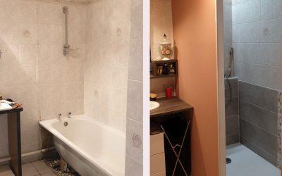 Création d'une douche – Ouest lyonnais