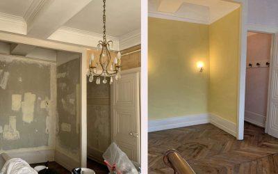 Rénovation d'une chambre – Lyon 2°
