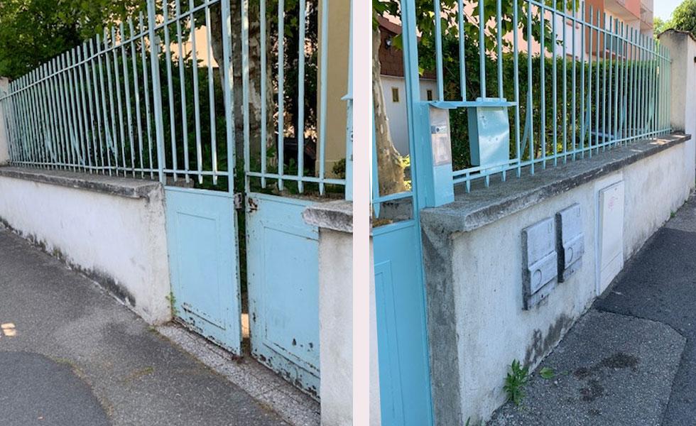 Rénovation Barrière & Portail, Décapage, Antirouille, Peinture – Villeurbanne